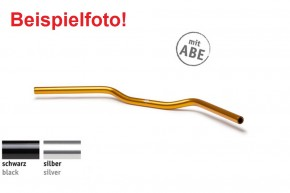 """LSL Aluminium-LENKER """"Speed Bar AS1"""", 22,2 mm, schwarz eloxiert, m. ABE"""