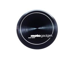 "2* Aluminium-ENDKAPPEN ""m.grip cap"" v. MOTOGADGET, für ""m.grip""-GRIFFE, in schwarz eloxiert"
