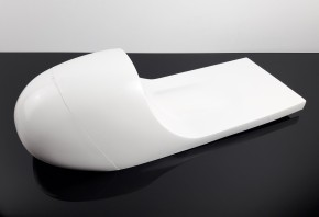 short Cafe-Racer-SEAT, blank, universal