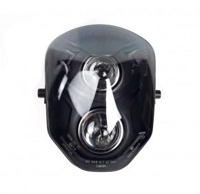 HEADLIGHT / Headlamp, two lens, e-marked