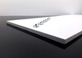 SITZBANKGRUNDPLATTE, Thermoplast 700x300x10mm