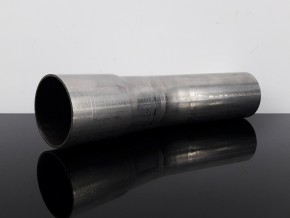 AUSPUFFROHR, Rohrbogen f. Krümmer, 15 Grad, ca. 42mm mit Muffe