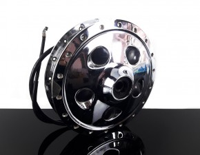 Original chromed front DRUM BRAKE Yamaha SR 500