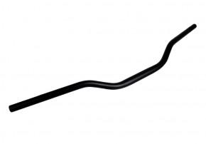 Alu-LENKER, 22 mm / mit verstärktem Klemmbereich, matt-schwarz