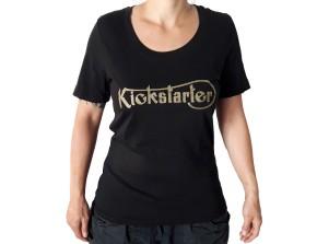 KICKSTARTER T-SHIRT for girls, organic cotton  S