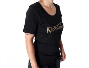 KICKSTARTER T-SHIRT for girls, organic cotton