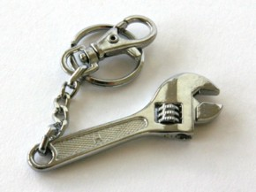 Wrench keyring