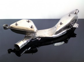 EXHAUST/muffler (stainless steel) XT/TT 500