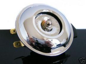 HORN, chromed, 12V