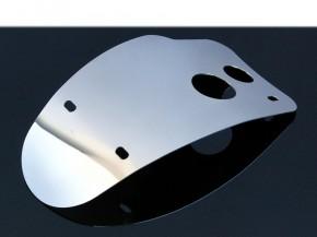 Edelstahl-Motorschutz für die YAMAHA SR 500