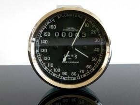 Tachometer TACHO SMITH-Style f. Enfield & Oldtimer, 160km/h
