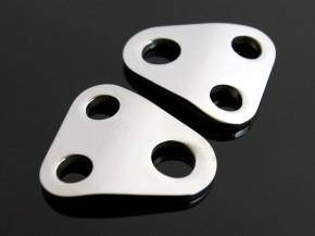2 VA-BLINKERHALTERBLECHE für YAHAMA XS 650