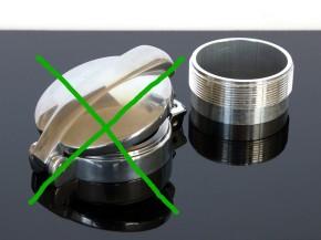 ALU-Tankdeckelstutzen für MONZA 2.5