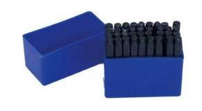SCHLAGBUCHSTABEN / Einschlagbuchstaben (LETTER punch set), 3 mm