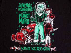 """T-Shirt """"JUVENILE DELINQUETS"""" v. KING KEROSIN, Gr.2XL"""