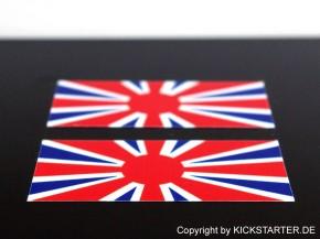 2 RISING JACK-Sticker SR 500, XS 400, W 650, GB 500, MX-5 +