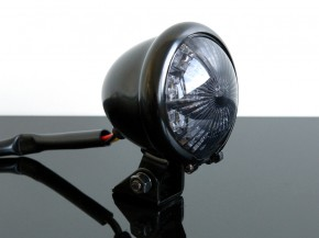 LED-RÜCKLICHT Tail/rear light BATES,schwarz SR 500/CHOPPER !