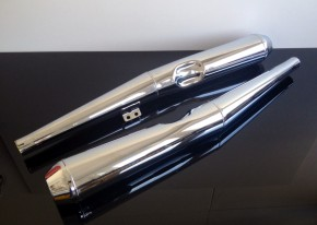 2* SILENCER/exhaust BMW  R60/6/7, R75/6/7, R80/7, R100/7 & R100