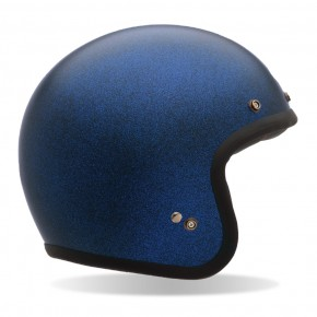 Helm BELL Custom 500, Matt Blau Flake Gr. XL