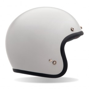 Helmet BELL Custom 500, vintage white, sizes XS