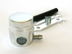 Alloy master cylinder, silver