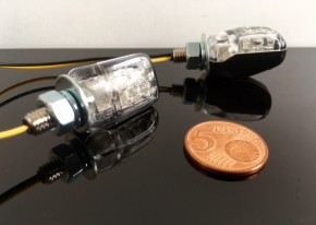 Mini LED Blinker - schwarz