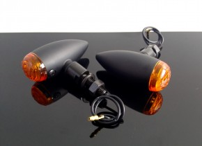 2 Mini-BLINKER / Indicators, schwarz