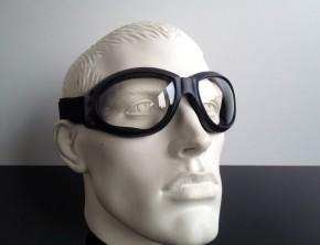 """""""Bandito"""" MOTORRADBRILLE Motorrad-Brille (klare Gläser)"""