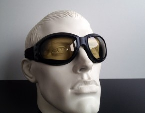 """Bandito"" Helmet-GOGGLES, (tinted lenses)"