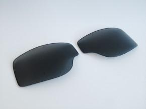 ERSATZGLÄSER f. T2 / AVIATOR-Motorradbrillen: Rauch / Getönt
