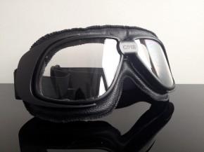 MOTORRADBRILLE / Motorrad-Brille, modern, schwarz