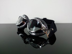 """Vintage"" MOTORRADBRILLE Motorrad-Brille (Helmet GOGGLES Lunettes) f.JETHELM"