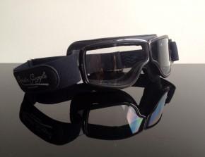 MOTORRADBRILLE Brille goggles AVIATOR, auch f. BRILLENTRÄGER!