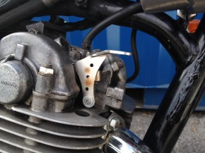 Dekompressionshebel, SR 500, decompression lever, SR500