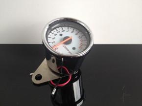 Chrom Drehzahlmesser/Speedo 60mm, elektrisch, bis 13.000 RPM