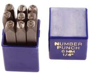 Einschlagzahlen, 2,5 mm