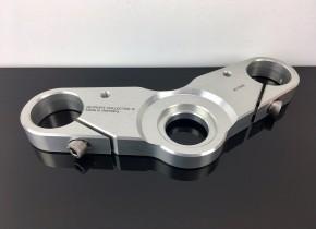 CNC-GABELBRÜCKE für BMW-R-Modelle, Alu natur, 38,5 mm, Cafe-Racer