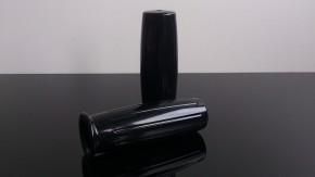 Griffe, GRIFFGUMMIS, schwarz, Amal-style, für 22mm Lenker