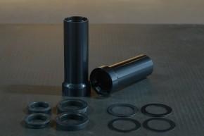 """COVER for inner fork tube (38,5 mm), """"Swishy Shroud"""" by BHCKRT, black"""