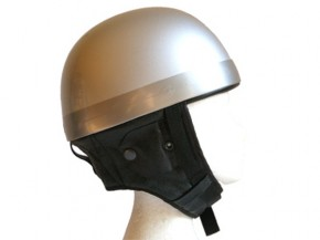 "OLD-STYLE ""Pudding-bassin"" CAFE-RACER HELMET, size S"