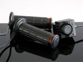 "HEATED GRIPS f. 7/8"" /22mm handlebars, 12V"
