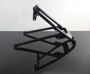 SUBFRAME for BMW R-model, duoshock, black coated
