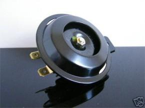 HORN black, 6V