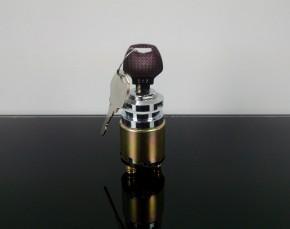 Universal Zündschloss, 3 Positionen, für 6, 12 oder 24 Volt