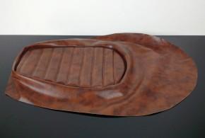 Sitzbankbezug mit Polsterung, braun, Eigenbau oder Reparatur T/P Sitzbänke
