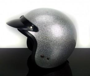 Shield, VISOR for retro jethelmet, (black)