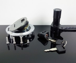 All LOCKS, incl. TANK CAP f. Yamaha SRX 600,YZF-R1,TRX 850,...