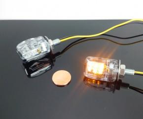 Mini LED Blinker - chrom