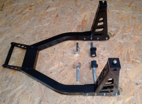 REAR STAND Aluminium, incl. claws AND L-support!