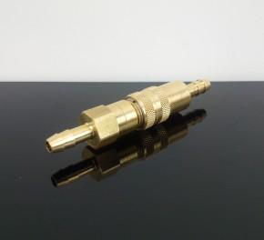 Benzinschlauch-SCHNELLVERBINDER, f. Schläuche d=6mm